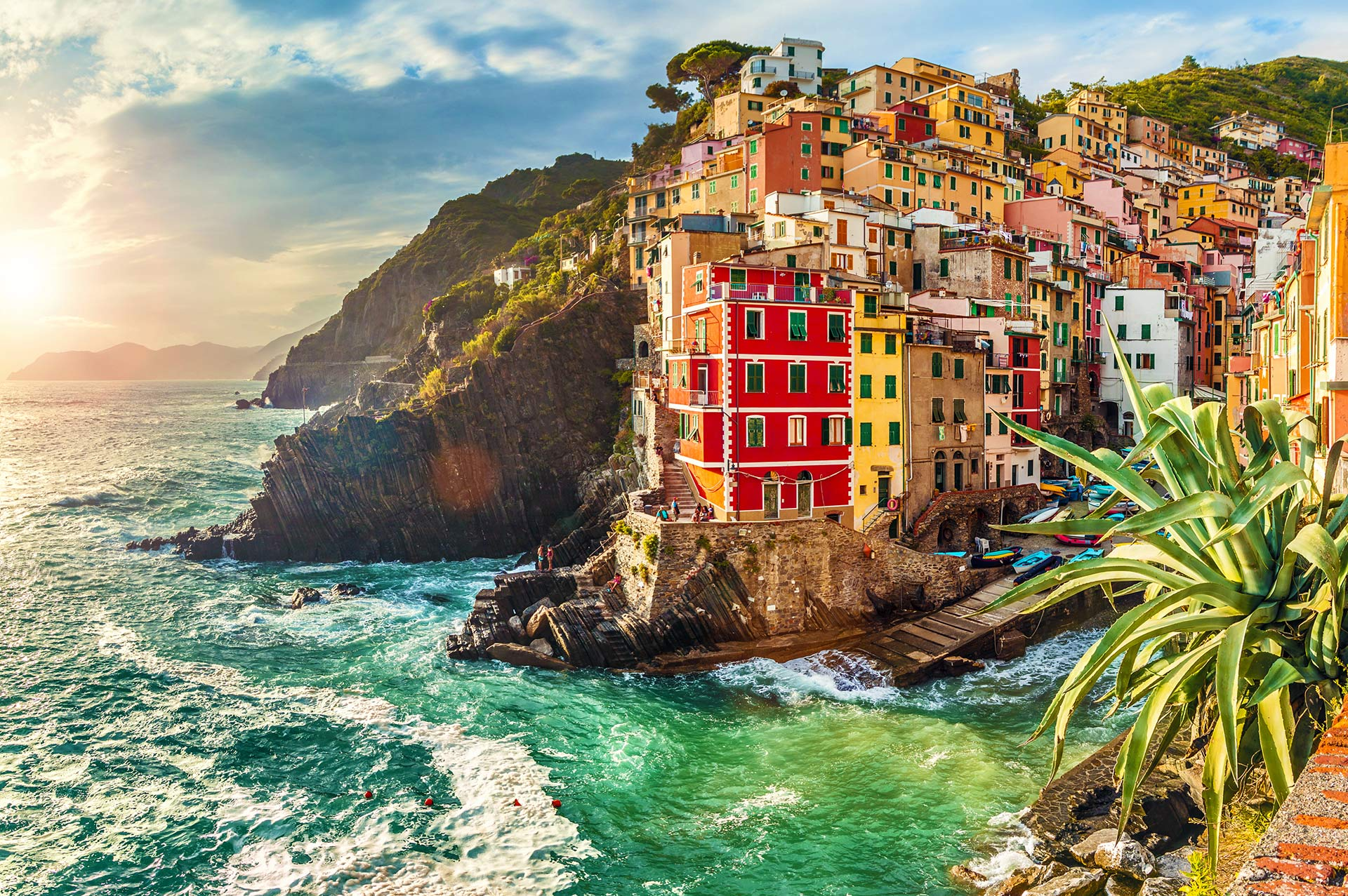 top yacht charter destinations mediterranean italian coast cinque terre and la spezia gallery 1