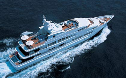 Lucky Lady luxury yacht charter a sailing or Motor Luxury Yacht for Caribbean Sea thumbnail