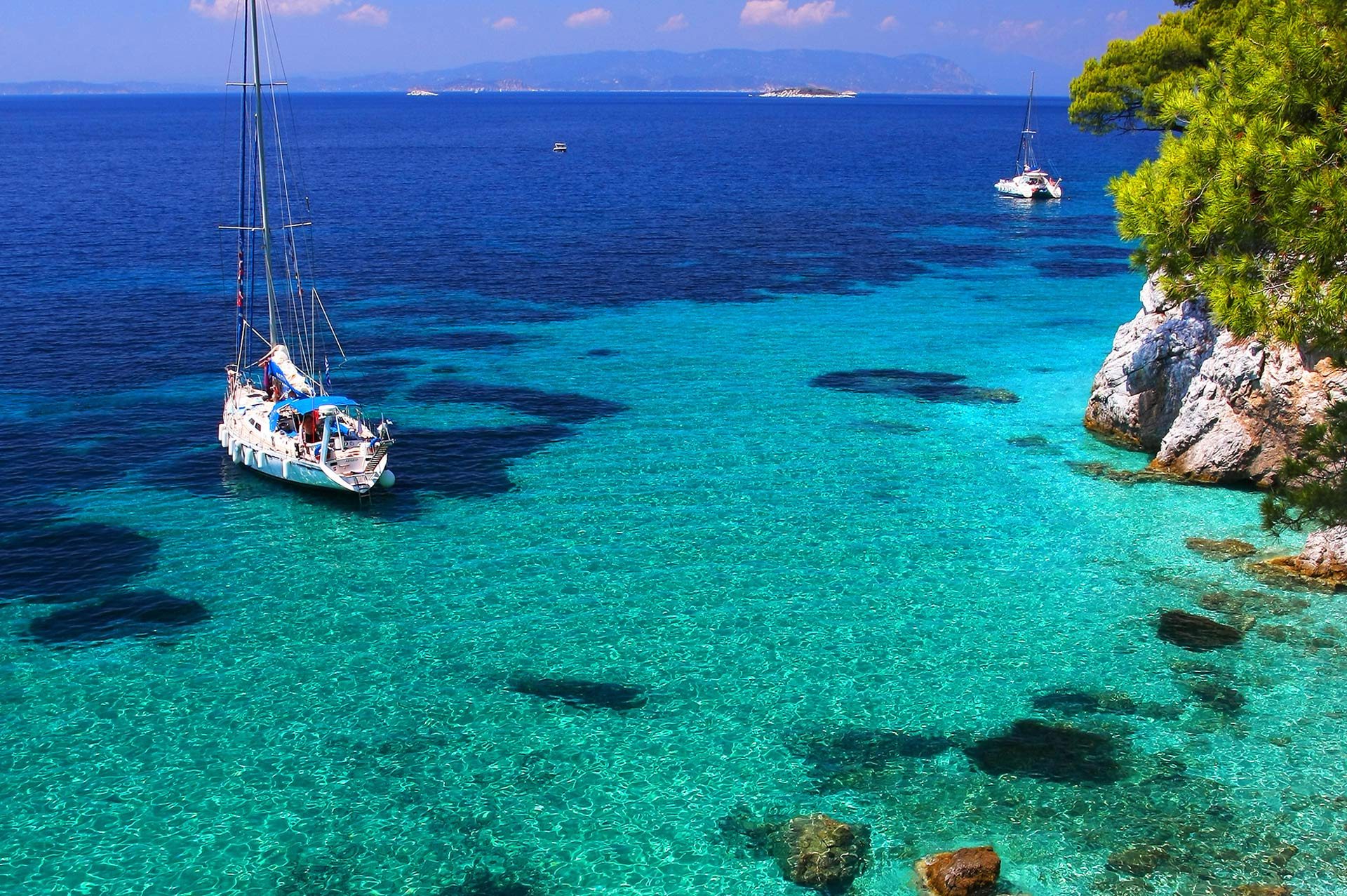 top yacht charter destinations mediterranean greece sporades skopelos gallery 2