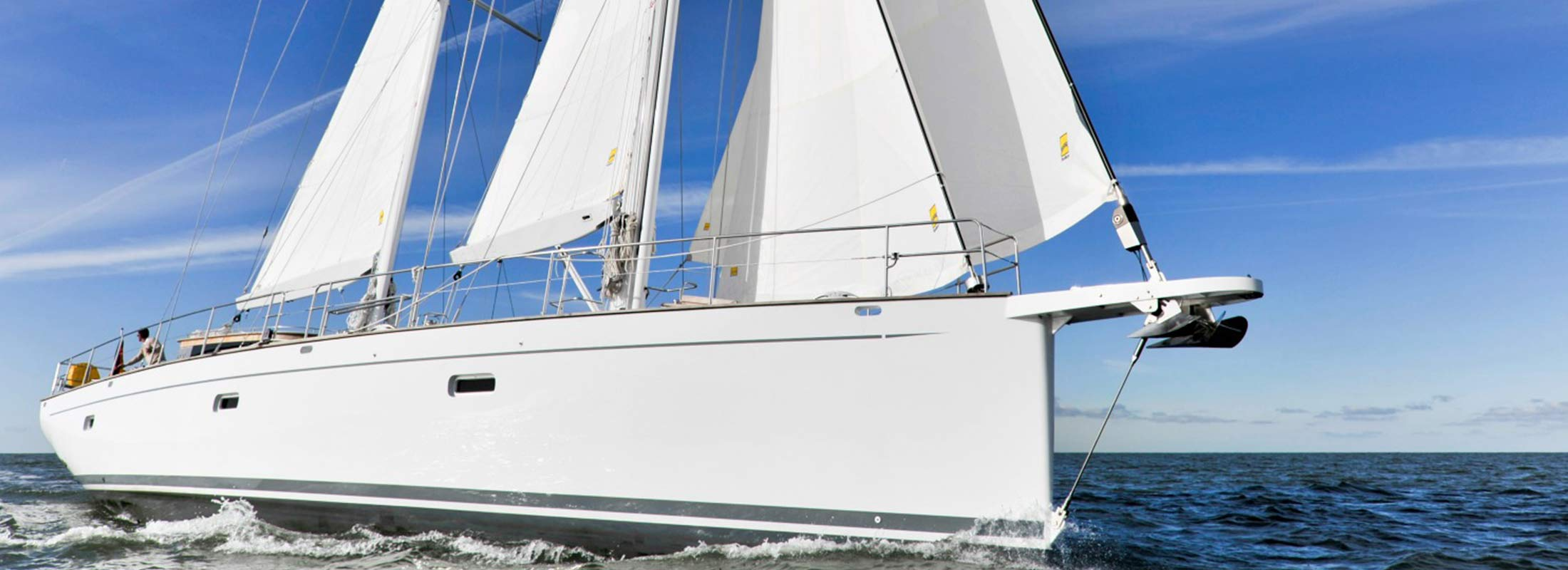 Shooting Star Sailing Yacht for Charter Mediterranean slider 1