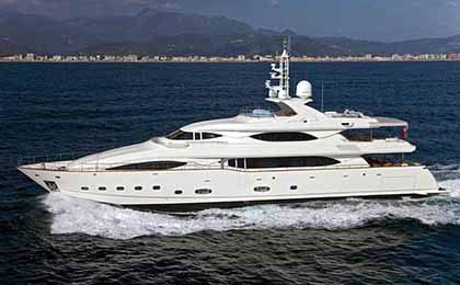 charter a sailing or motor luxury yacht ariela thumbnail
