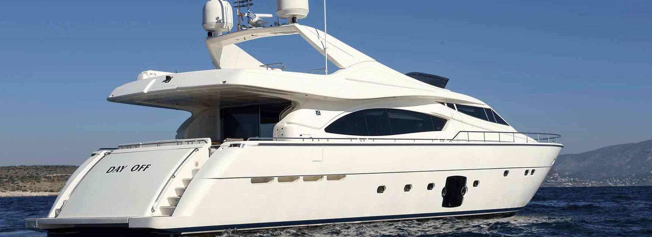 Day Off Motor Yacht for Charter Mediterranean slider 2