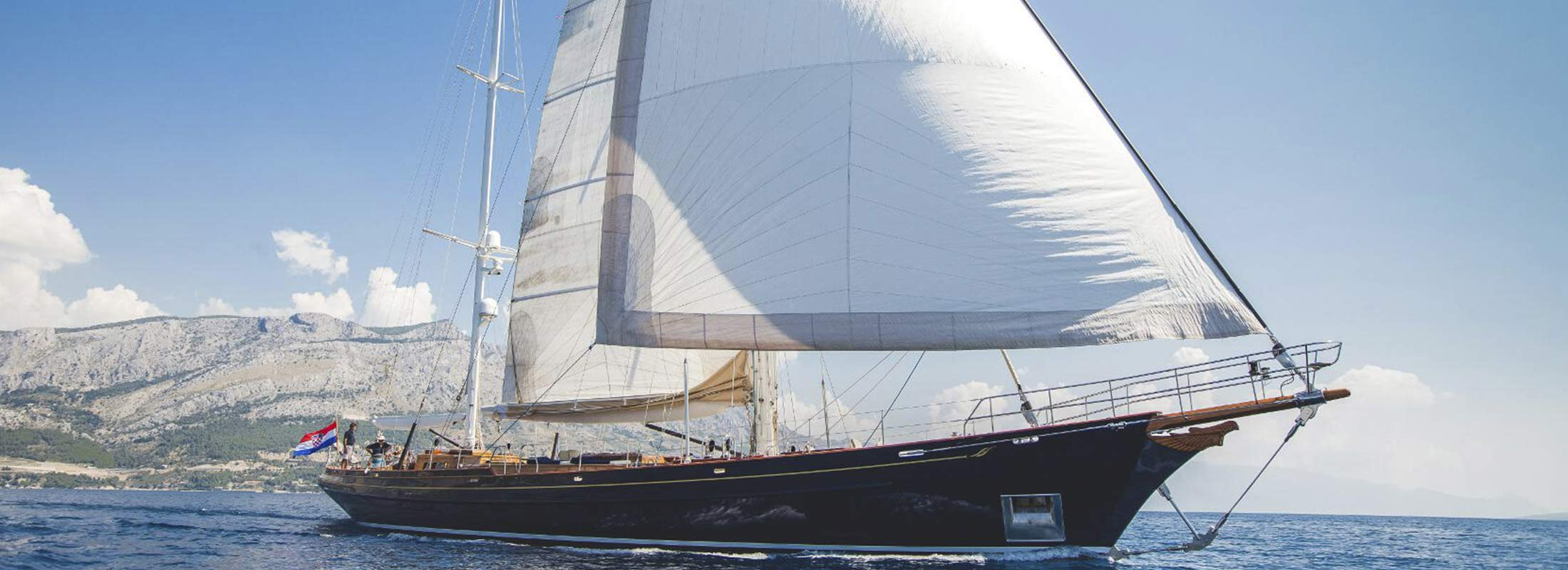 Lauran Sailing Yacht for Charter Mediterranean slider 1