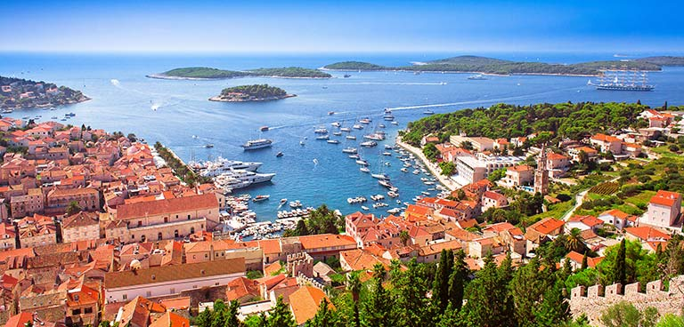 top yacht charter destinations adriatic sea croatia hvar preview
